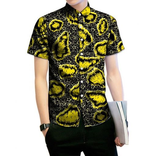 Dashiki shirt mens