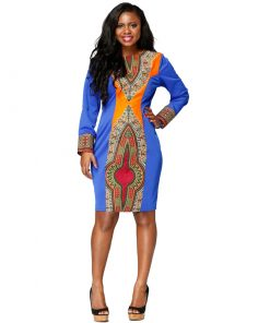 short dashiki dress