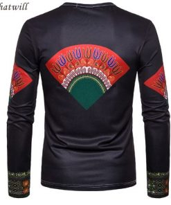 black dashiki t-shirt