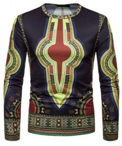 Dashiki tshirt men
