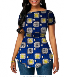 Dashiki tops for ladies