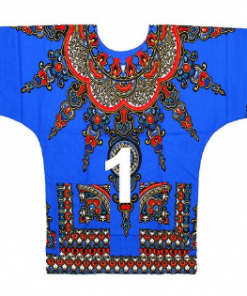 Dashiki crop top