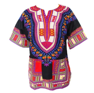 Dashiki tshirt for women