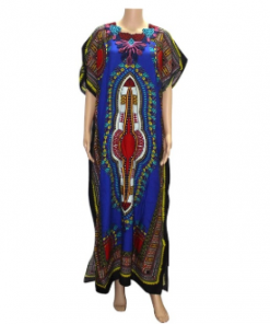 Dashiki evening gown