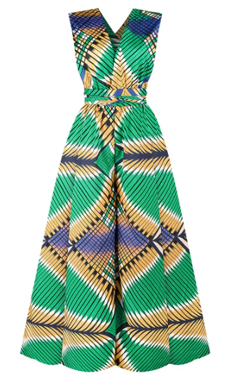 New African Jumpsuit with Multi-Wear Style for Women 3