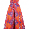 New African Jumpsuit with Multi-Wear Style for Women 4