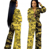 African Long Sleeve Printed Jumpsuit for Women 5