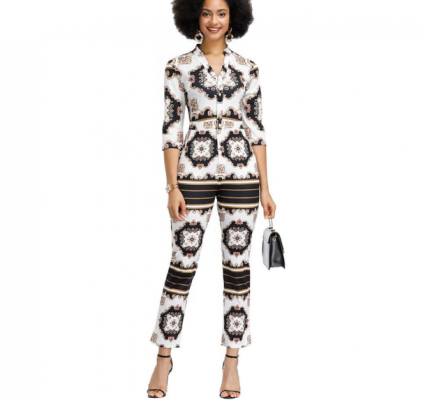 African Jumpsuits for Girls