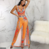Sexy 2 PC Dashiki Jumpsuit For Women 3