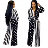 Cheap Long Sleeve Printed African Jumpsuit 5