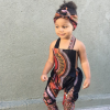 African Printed Sleeveless Jumpsuit for Girl 3
