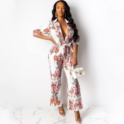 African Style Sleeve Party Jumpsuit [New] 1